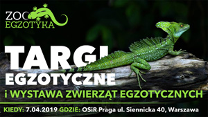 Targi ZooEgzotyka w Warszawie