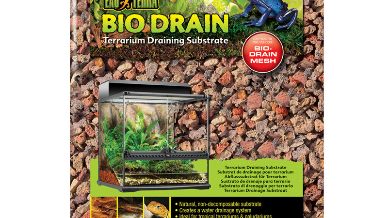 Bio drain substrate – podłoże drenujące do terrarium