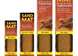 Sand Mat – naturalne podłoże do terrarium pustynnego